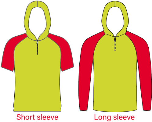 Short and Long sleeve of hooded shooting shirt.png