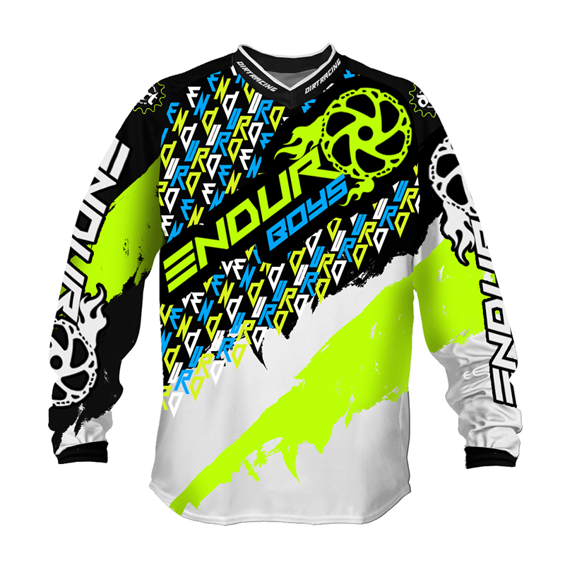 2020 Hot sale long sleeve cycling jersey mountain bike jersey custom design sublimated MTB downhill Jerseys