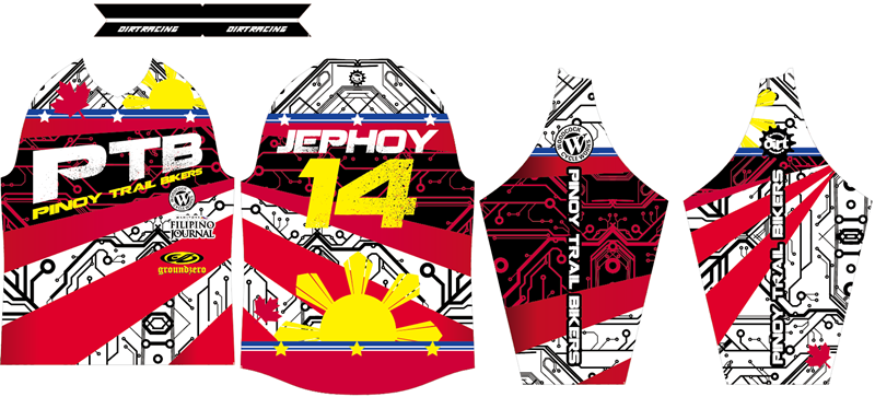 Design of Mountain bike jersey.png