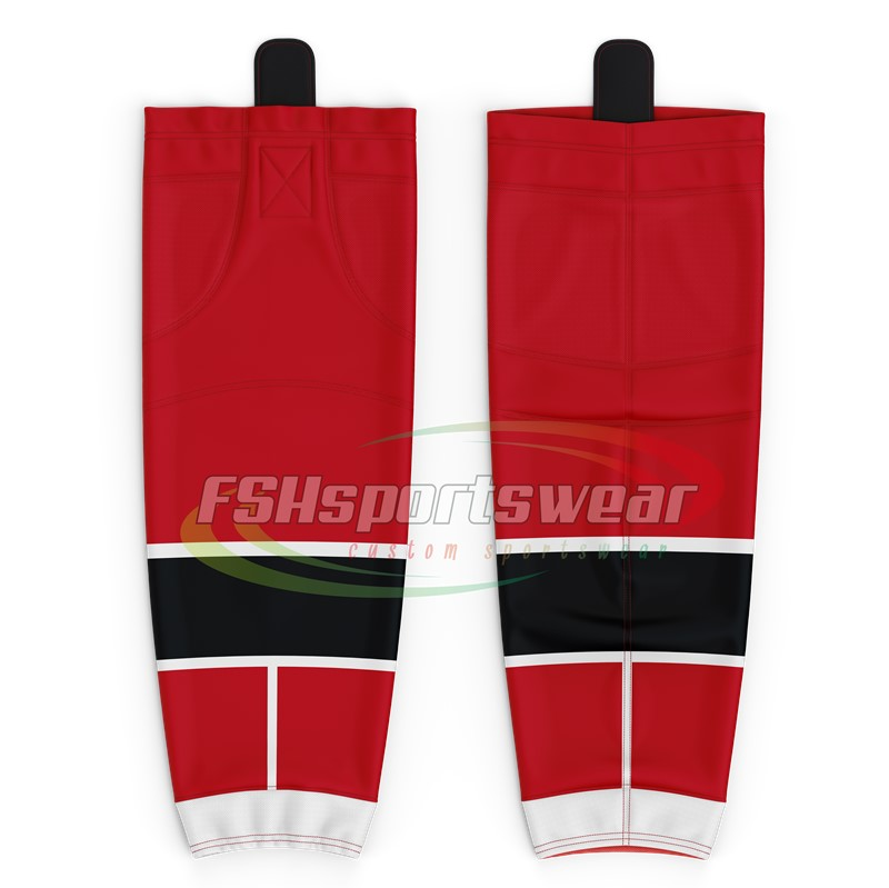 Sublimation ice hockey socks custom professional high quality team hockey socks