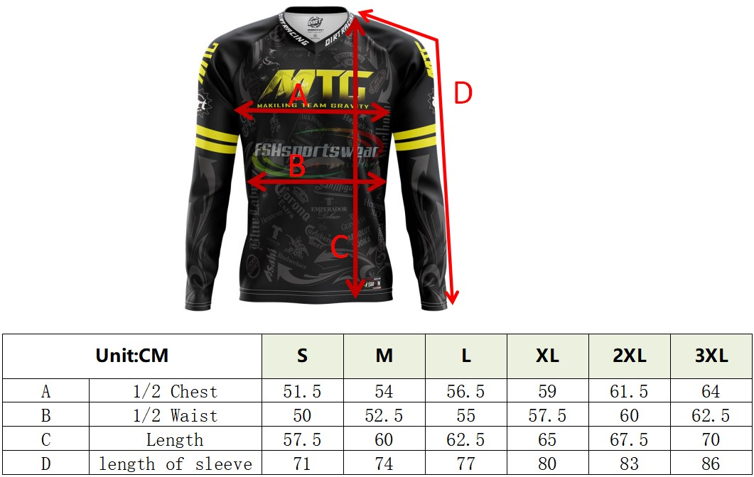 Size chart of mountain bike jersey.jpg