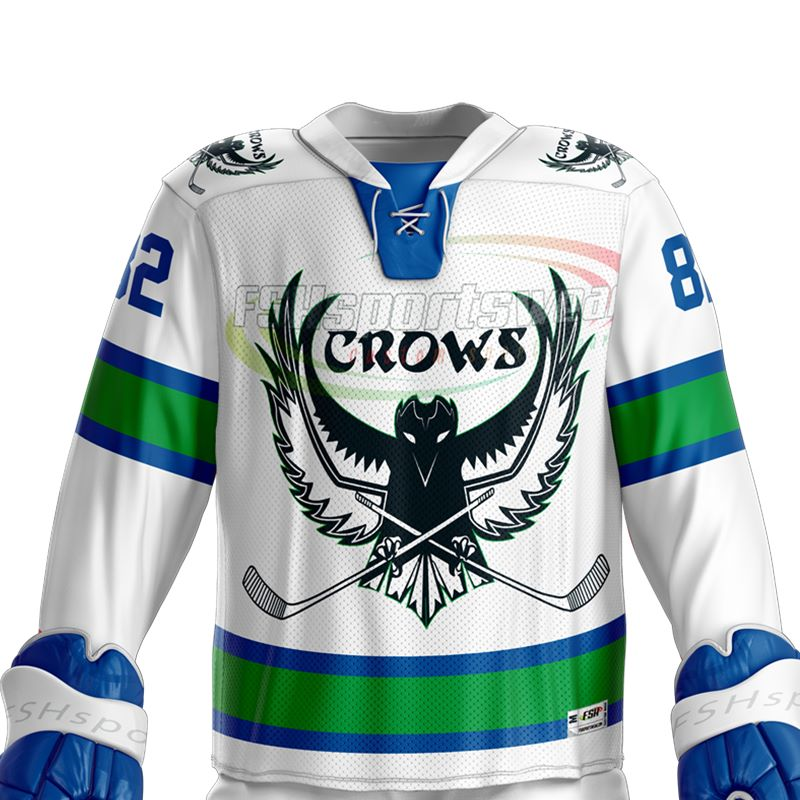 Wholesale custom design sublimation ice hockey jersey