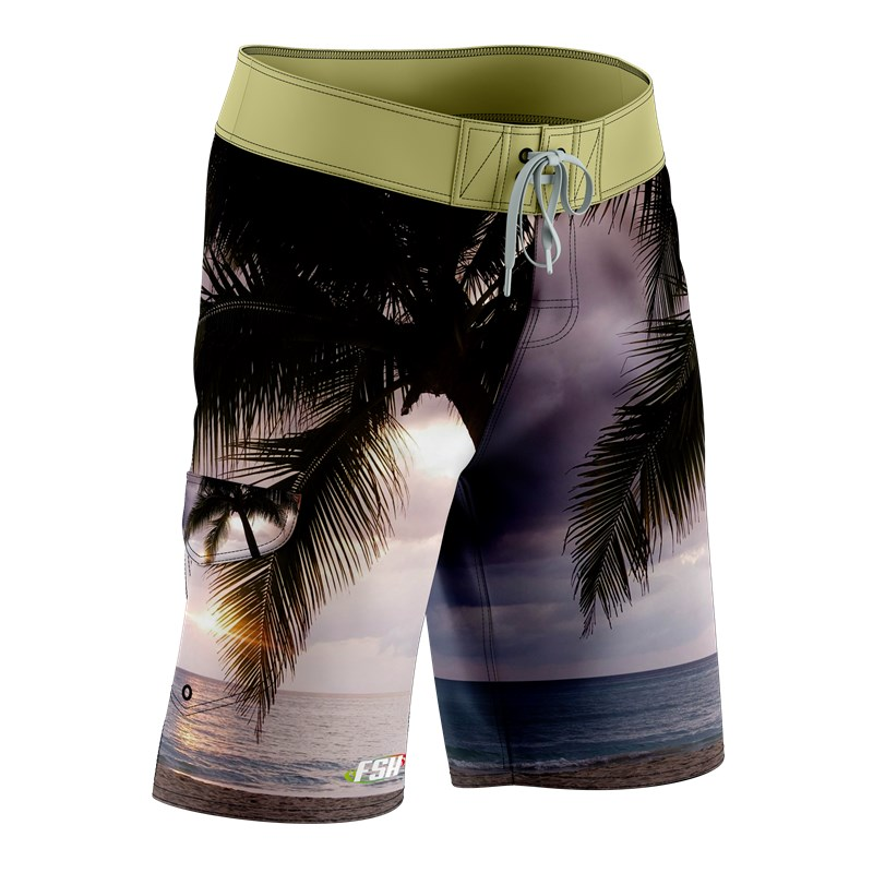 Fashional microfiber sublimation print board shorts /swimming shorts/beach shorts