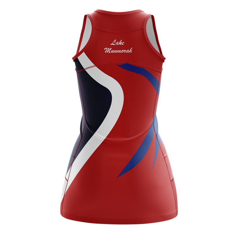Wholesale sublimated netball uniform custom netball dress