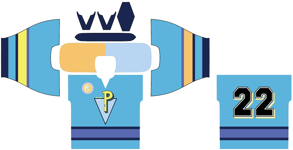 Artwork of Picasso world wide ice hockey jersey.jpg