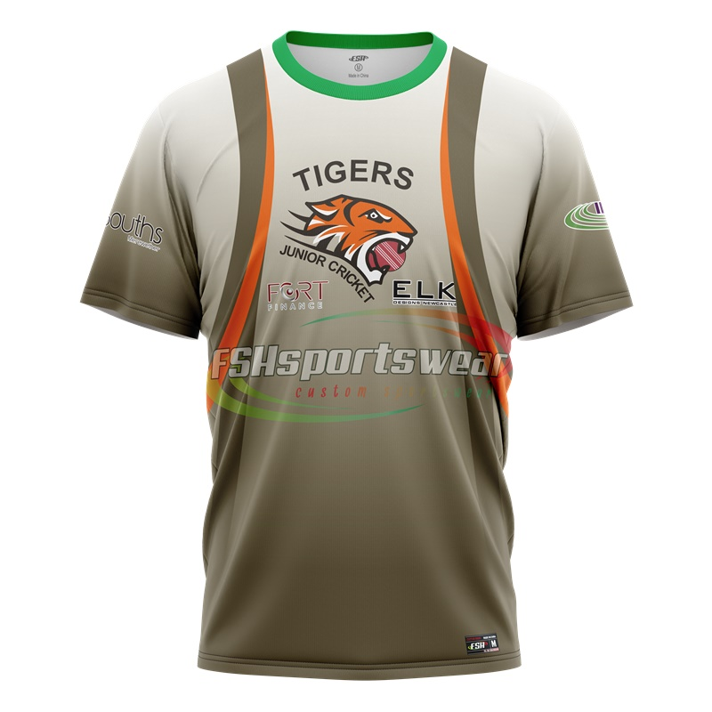 Custom design cricket jerseys uniforms mens cricket uniform full sublimation printing cricket t shirt