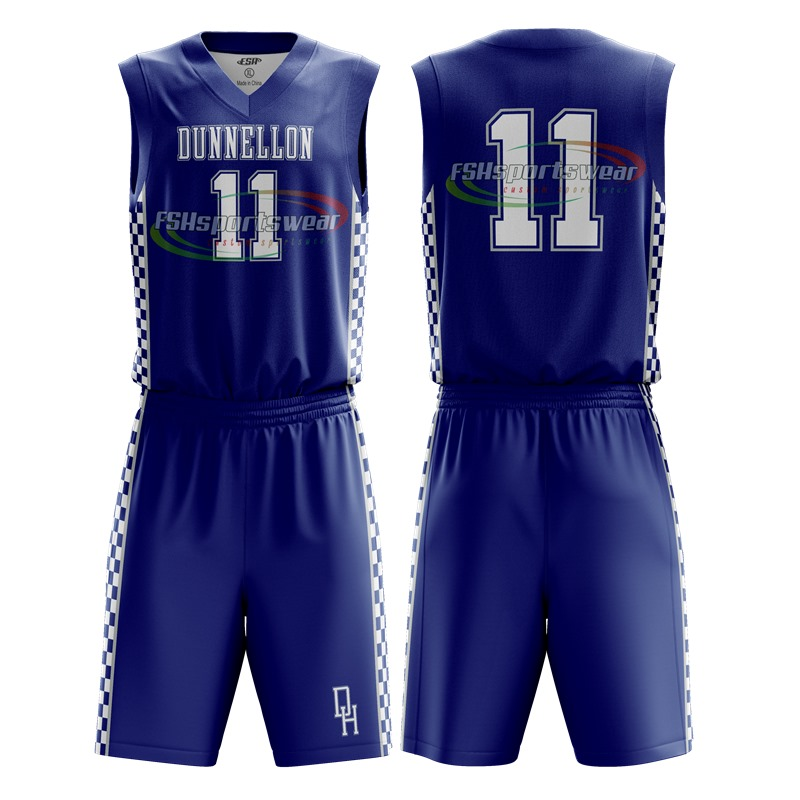 Custom sublimation printing basketball jersey men basketball shirt sportswear