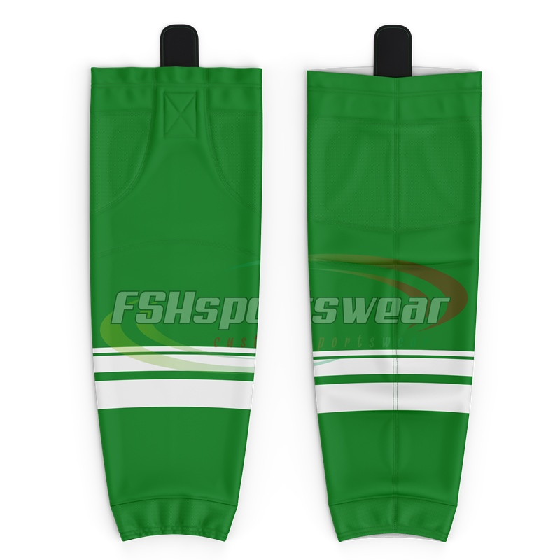 2021 custom sublimated dry fit ice hockey socks