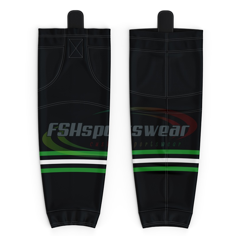 High Quality customized sublimation hockey socks 100% polyester