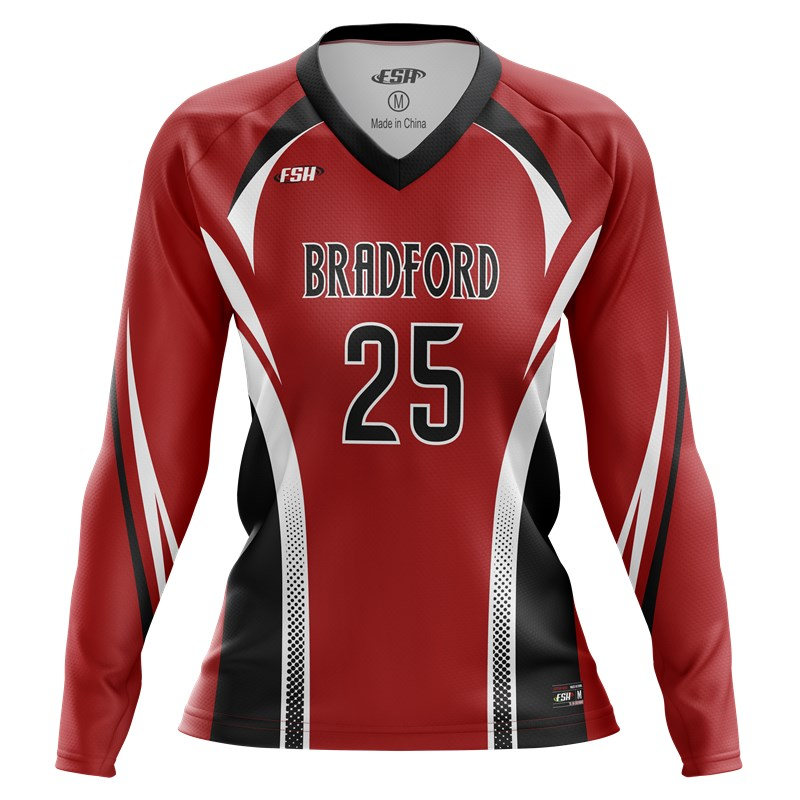 Game day long sleeve volleyball jersey