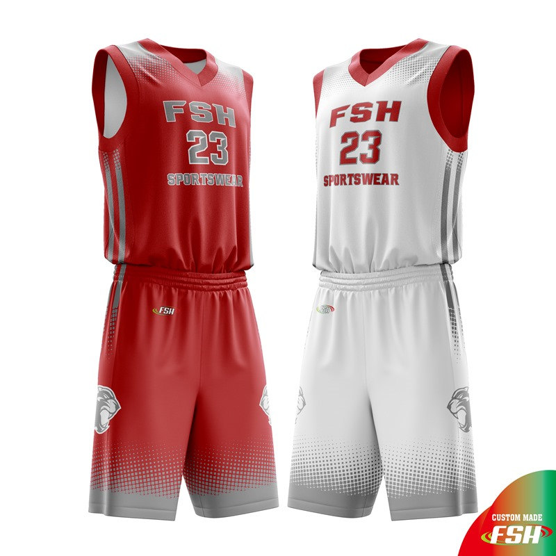 Cougars Reverse Basketball Jersey