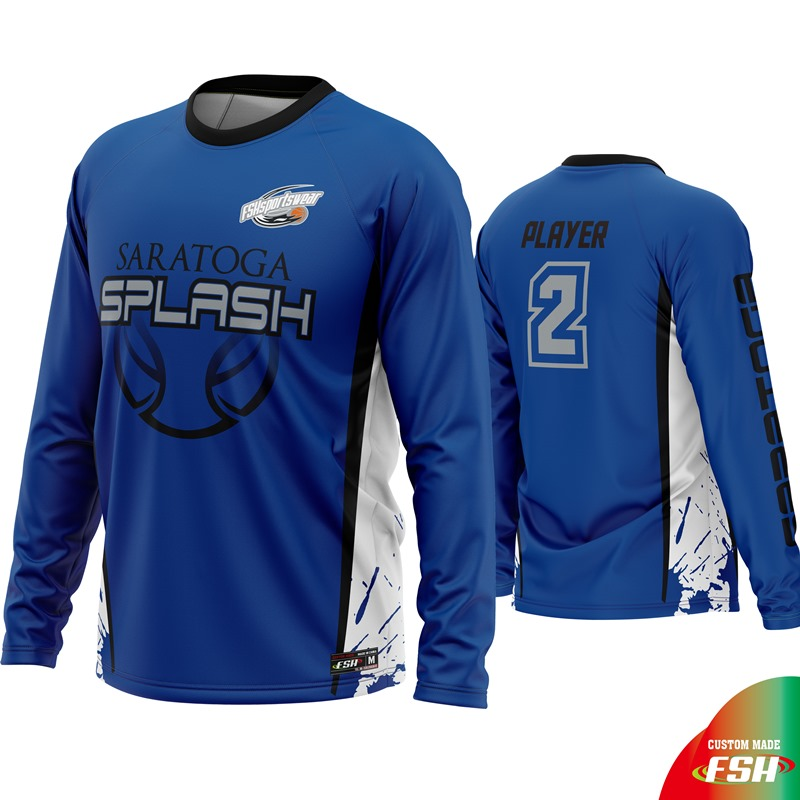 Latest design basketball shooting shirt,sublimated basketball training shirt
