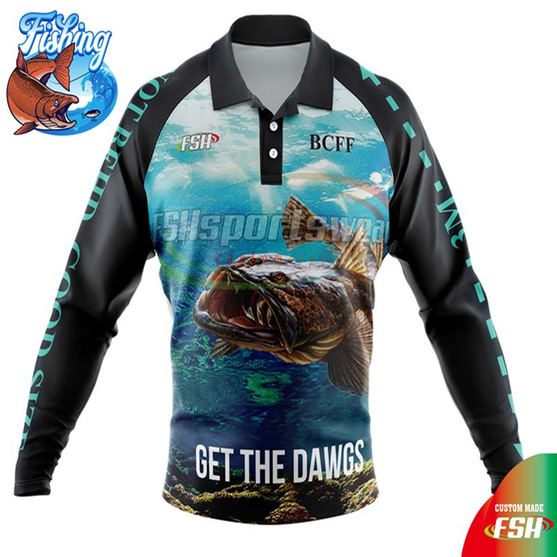 Custom long sleeve fishing jersey