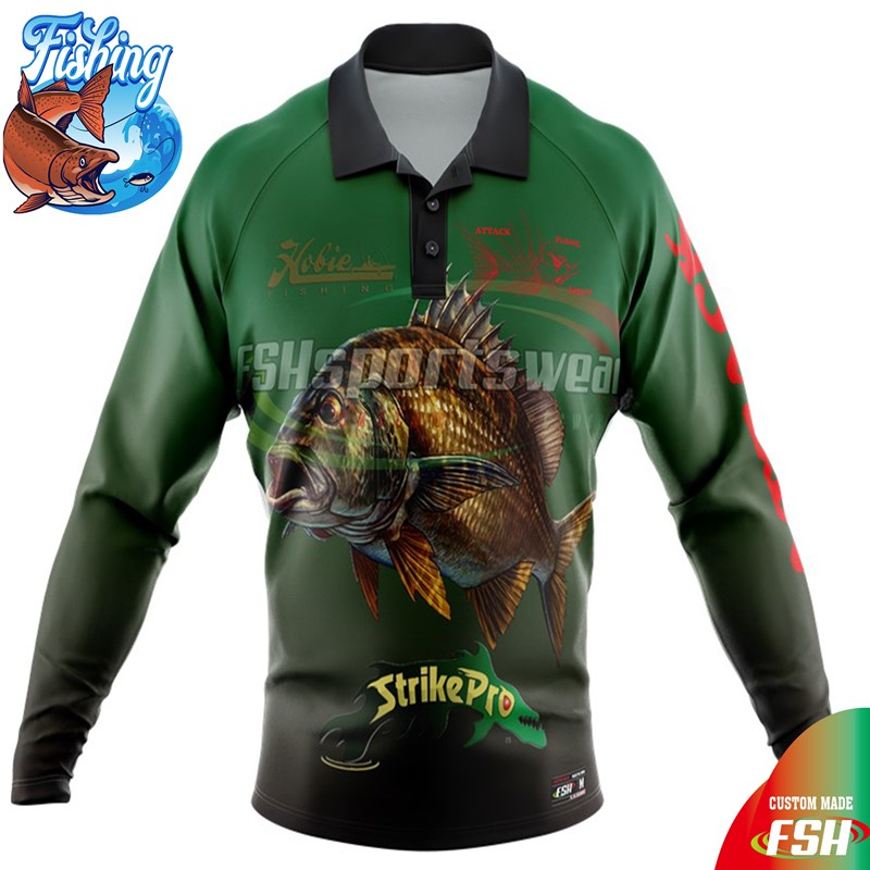 Wholesale long sleeve fishing shirt sublimation print