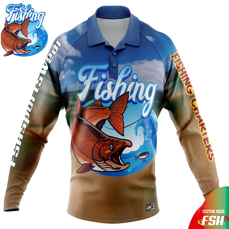 Custom fishing shirt australia