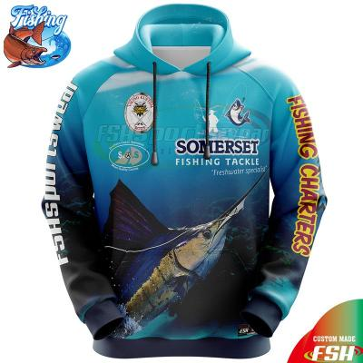 Fishing hoodies with sublimation print