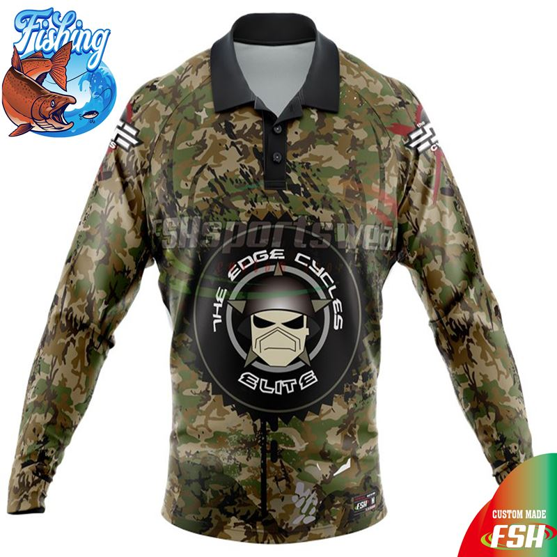 China professional OEM fishing shirts UV protection fishing wear